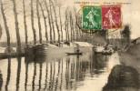- LEZINNES - Le Canal De Bourgogne  (beau Plan De Péniches)  -14461- - Other Municipalities