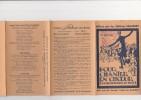 PETIT DEPLIANT DE 5 PAGES  AVEC 23 SUCCES -POUR CHANTER EN CHOEUR -OFFERT PAR LES EDITIONS SALABERT - Chant Chorale