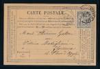 Frankreich -alte Karte....Bedarf     ( Bc9608 ) Siehe Scan - 1876-1898 Sage (Type II)