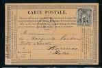 Frankreich -alte Karte....Bedarf     ( Bc9607 ) Siehe Scan - 1876-1898 Sage (Type II)
