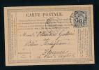 Frankreich -alte Karte....Bedarf     ( Bc9606 ) Siehe Scan - 1876-1898 Sage (Type II)