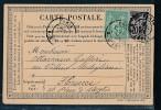 Frankreich -alte Karte....Bedarf     ( Bc9605 ) Siehe Scan - 1876-1898 Sage (Type II)