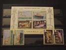 ANGUILLA - 1978 INCORONAZIONE 4 Valori + BF - NUOVI(++) - Anguilla (1968-...)