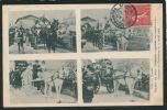 RAPHÈLE LES ARLES - Cavalcade Organisée Aux Bénéfices Des Sinistrés De COURRIÉRES Le 15 Avril 1906 - France