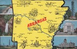 Map Of Arkansas With Multi View - Maps