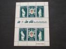 BRITISH ANTARCTIC T. -1978 INCORONAZIONE  3 Valori + 3 Valori - NUOVO(++) - Nuovi