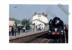 10 - LONGUEVILLE - Mai 2010 - GARE - Locomotive Train 241 P 17 Blason LE CREUSOT - Voie Ferrée - ANIMATION - France