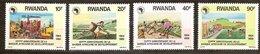 Rwanda Ruanda 1990 Yvert 1297-1300 OBCn° 1364-67 *** MNH   Cote 6 Euro - Rwanda