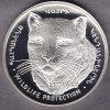@Y@   Nagorno Karabakh  1000 Dram 2004 Silver Coin. Rare Wildlife Coin Leopard  Proof - Nagorno-Karabakh