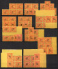 1/ Indochine Taxe Entre N° 60 & 71 Neuf  XX , Cote : 52,50 € , Disperse Trés Grosse Collection ! - Portomarken