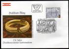 ÖSTERREICH 1983 - Hallstatt Ring / Grabfund Aus Uttendorf / Landesmuseum Linz - Sonderstempel FDC - Archäologie