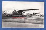 Carte Photo - PAU - Départ De Militaire Parachutiste - Bel Avion à Identifier - Avril 1962 - Plane Flugzeug - Paracadutismo