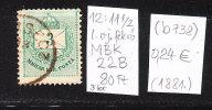 (b 738) Hungarian MBK 22B Farthing Envelope Drawing 1881st - Hungary