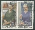 Moldawien 1996 Europa: Berühmte Frauen 210/11 Gestempelt - Moldawien (Moldau)