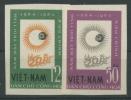 Vietnam Nord 1964 Jahr Der Ruhigen Sonne 296/97 U Postfrisch O. G. - Viêt-Nam
