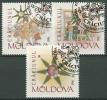 Moldawien 1996 Weihnachten 222/24 Gestempelt - Moldawien (Moldau)