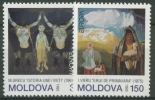 Moldawien 1993 Zeitgenössische Kunst 94/95 Postfrisch - Moldawien (Moldau)