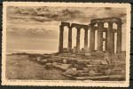 GREECE SOUNIO TEMPLE OF POSEIDON, OLD VINTAGE POSTCARD, CHOCOLAT MARTOUGIN ANDERS -CAG 131015 - Greece