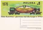 Poland Postal Stationary:  1976  Huta Katowice    -   Mint (G78-38) - Stamped Stationery