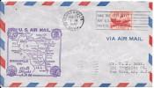 LE32 Courrier De 1ère Liaison Américaine De Minnéapolis à New York - Poste Aérienne