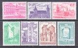 BELGIUM   B 705-11   *   BUILDINGS - Unused Stamps