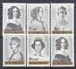 BELGIUM   B 724-9   *    QUEENS - Unused Stamps