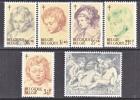 BELGIUM   B 747-52   *   PORTRAITS - Unused Stamps