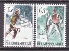 BELGIUM   B 760-1   *     BATTLE OF BASTONE - Unused Stamps