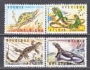 BELGIUM   B 779-82   *   ZOO ANIMALS  REPTILES - Belgium