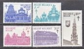 BELGIUM   B 784-8   *   BUILDINGS - Unused Stamps