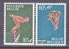 BELGIUM   B 791-2   *      SWIMMING   DIVING - Belgium