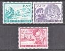 BELGIUM   B 797-9   *   POLAR EXPLORATION - Unused Stamps