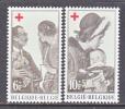 BELGIUM   B 822-3   *   QUEEN  REFUGEE - Belgium