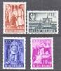 BELGIUM   B 447-50  *   ABBEY - Unused Stamps