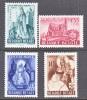 BELGIUM   B 451-4  *   CONVENT - Unused Stamps