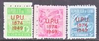 CUBA  449-50  *   UPU - Cuba