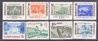 CUBA   566-9, C 153-5, E 22   *       ART  PAINTINGS - Cuba