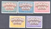 CUBA   577-81  *   GENERALS - Cuba