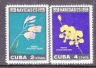 CUBA   610-11   *   ORCHIDS - Cuba