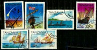 Tanzanie  Scott N°986.988.990.989.991.992.oblitérés - Tansania (1964-...)
