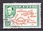 FIJI   133  (o)   180 DEGREES - Fiji (...-1970)