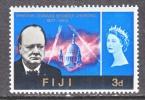 FIJI   215   *  CHURCHILL - Fiji (...-1970)