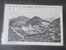 AK Österreich Ca. 1910er Jahre! Schweizerhof Privat-Heilanstalt Und Pension. Panorama. Sanatorium?! Seltene Karte!! - Hotels & Gaststätten