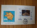 Rumänien, Block 113 Auf FDC, UPU 1974 ! - FDC