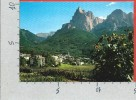 CARTOLINA VG ITALIA - DOLOMITI (BZ) - Siusi Allo Sciliar - 10 X 15 - ANNULLO 19?? - Bolzano