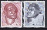 Yugoslavia,100 Years Of Birth-V.I.Lenin 1970.,MNH - 1945-1992 Socialist Federal Republic Of Yugoslavia