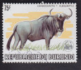 Burundi: Connochaetes T. Albojubatus. YT 862 Cote 200€ - 1980-89: Oblitérés