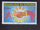 Burundi: Naissance De L'Europe: Solidarité Avec L'Afrique. YT 990 - Burundi