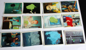 Lot 38 Stickers PANINI The Real Ghosbusters 1988 SOS FANTOMES Série TV Américaine - Edizione Francese
