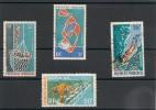 POLYNÉSIE  Années  1970/71  P.A.  N° Y/T :34/35-49/50 Oblitérés - Oblitérés
